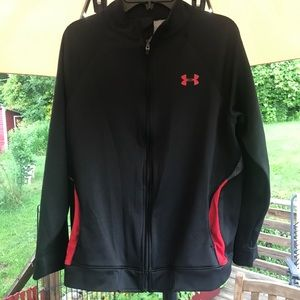 Under Armour Zip-Up Heat Gear